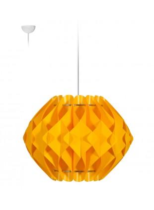 Κρεμαστό Μοντέρνο Φωτιστικό Οροφής Nova M2 - Κίτρινο