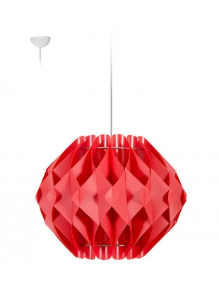 Κρεμαστό Μοντέρνο Φωτιστικό Οροφής Nova M2 - Κόκκινο