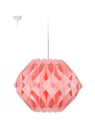 Κρεμαστό Μοντέρνο Φωτιστικό Οροφής Nova M2 - Ροζ