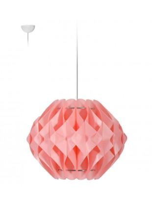 Κρεμαστό Μοντέρνο Φωτιστικό Οροφής Nova S2 - Ροζ