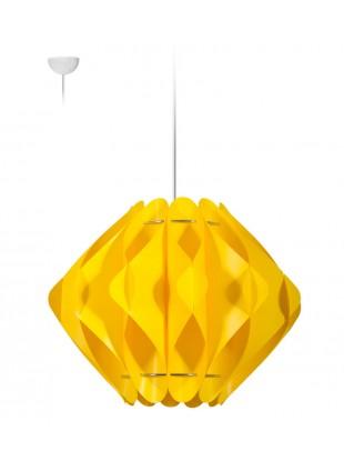 Κρεμαστό Μοντέρνο Φωτιστικό Οροφής Saporo M1 - Κίτρινο