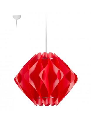 Κρεμαστό Μοντέρνο Φωτιστικό Οροφής Saporo M1 - Κόκκινο