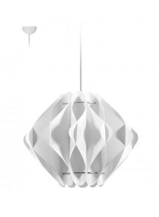 Κρεμαστό Μοντέρνο Φωτιστικό Οροφής Saporo M1 - Λευκό