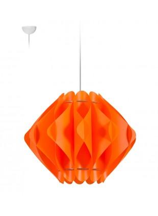 Κρεμαστό Μοντέρνο Φωτιστικό Οροφής Saporo M1 - Πορτοκαλί