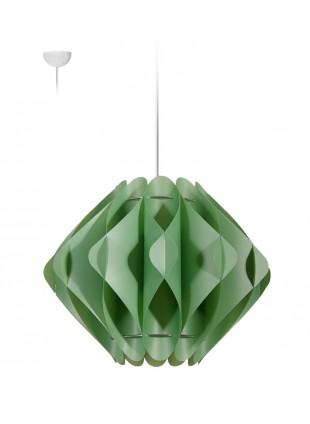 Κρεμαστό Μοντέρνο Φωτιστικό Οροφής Saporo M1 - Πράσινο