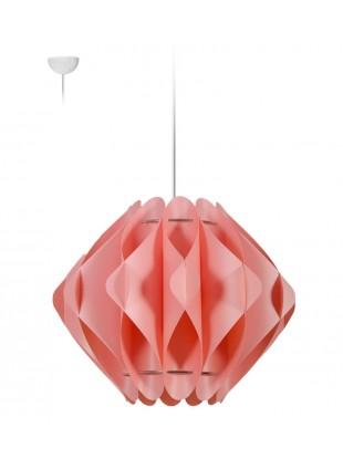 Κρεμαστό Μοντέρνο Φωτιστικό Οροφής Saporo M1 - Ροζ