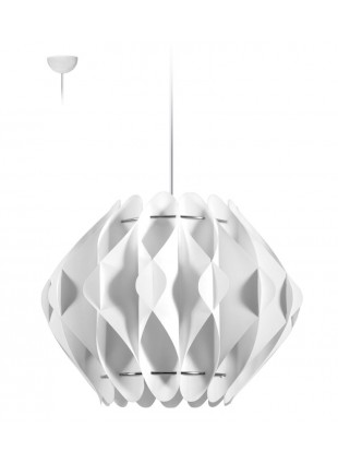 Κρεμαστό Μοντέρνο Φωτιστικό Οροφής Saporo M2 - Λευκό