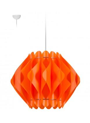 Κρεμαστό Μοντέρνο Φωτιστικό Οροφής Saporo M2 - Πορτοκαλί