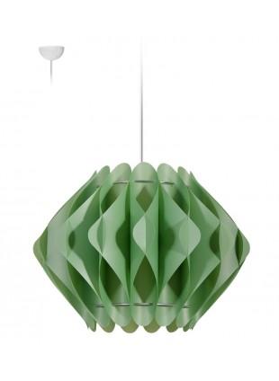 Κρεμαστό Μοντέρνο Φωτιστικό Οροφής Saporo M2 - Πράσινο