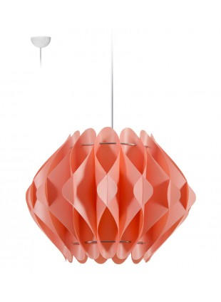 Κρεμαστό Μοντέρνο Φωτιστικό Οροφής Saporo M2 - Ροζ
