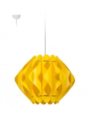 Κρεμαστό Μοντέρνο Φωτιστικό Οροφής Saporo S2 - Κίτρινο
