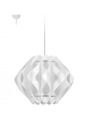 Κρεμαστό Μοντέρνο Φωτιστικό Οροφής Saporo S2 - Λευκό