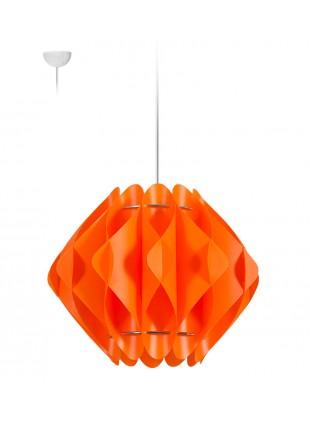 Κρεμαστό Μοντέρνο Φωτιστικό Οροφής Saporo S2 - Πορτοκαλί
