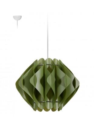 Κρεμαστό Μοντέρνο Φωτιστικό Οροφής Saporo S2 - Πράσινο