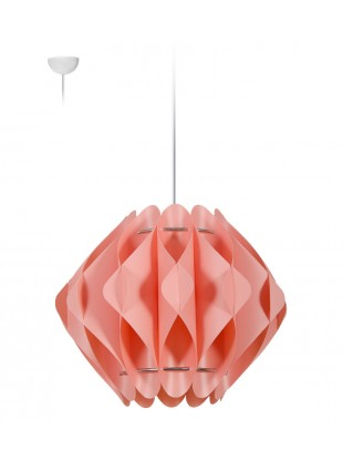Κρεμαστό Μοντέρνο Φωτιστικό Οροφής Saporo S2 - Ροζ