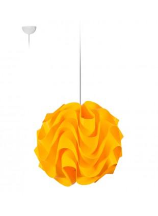 Κίτρινο κρεμαστό φωτιστικό οροφής Wave S