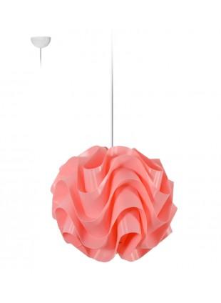 Κρεμαστό Μοντέρνο Φωτιστικό Οροφής Wave S1 - Ροζ