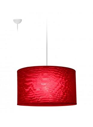 Κρεμαστό Κυλινδρικό Φωτιστικό Illusion Serpentine  Κόκκινο
