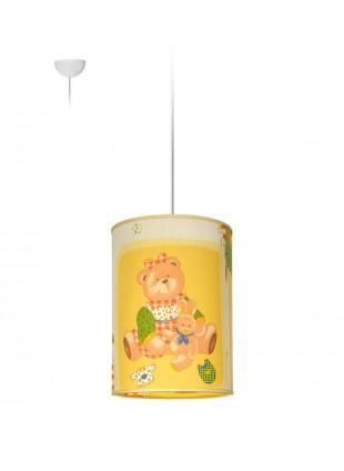 Παιδικό Κρεμαστό Φωτιστικό Αρκουδάκια