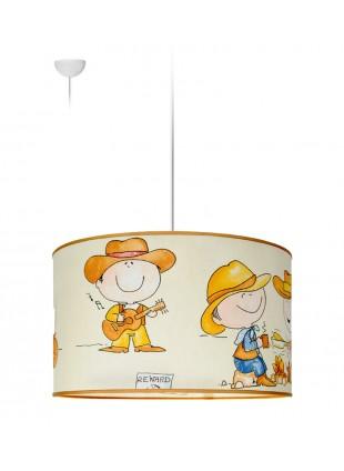 Παιδικό φωτιστικό οροφής - Μπεζ