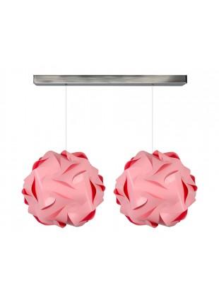Κρεμαστό φωτιστικό οροφής Flower σε Ροζ χρώμα.