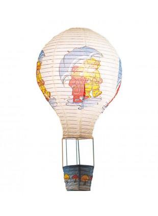 Κρεμαστό χάρτινο φωτιστικό οροφής σε σχέδιο αερόστατο