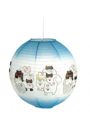 Χάρτινο φωτιστικό οροφής με σχέδιο Γάτες
