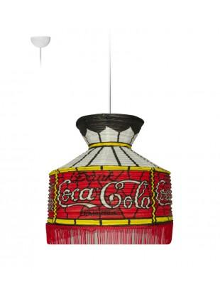 Κρεμαστό Χάρτινο Φωτιστικό ποτά - Coca Cola