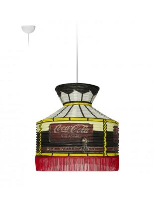 Κρεμαστό Χάρτινο Φωτιστικό ποτά - Coca Cola Classic