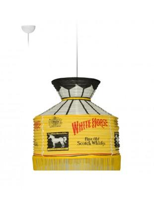 Κρεμαστό Χάρτινο Φωτιστικό ποτά - White Horse