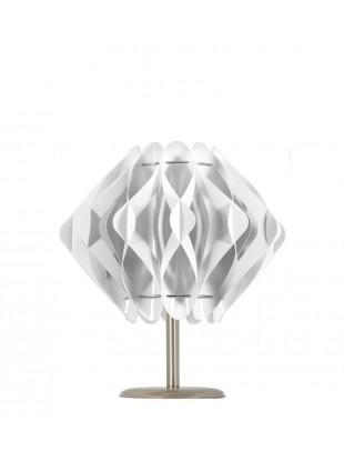 Λευκό επιτραπέζιο φωτιστικό Ravena S2 βάση 10cm