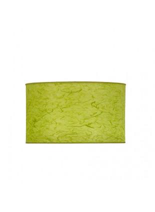 Λεμονί Επιτραπέζιο Αμπαζούρ Κυλινδρικό από Ριζόχαρτο Δ-16cm Y-12cm