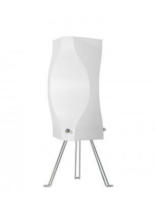 Λευκό επιτραπέζιο φωτιστικό με τρίποδο Venus S1