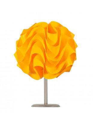 Κίτρινο επιτραπέζιο φωτιστικό Wave βάση 10 cm
