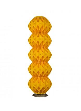 Κίτρινο πεντάφωτο φωτιστικό δαπέδου Nova M2