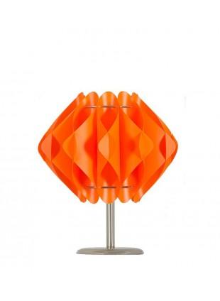 Πορτοκαλί επιτραπέζιο φωτιστικό Saporo S2 βάση 10 cm