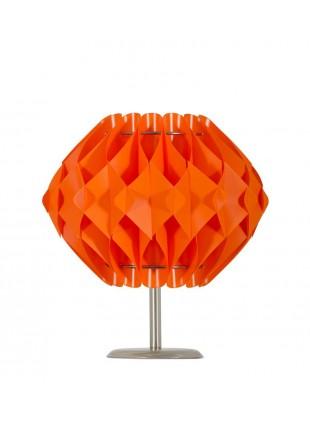 Πορτοκαλί επιτραπέζιο φωτιστικό Nova S2 βάση 10 cm