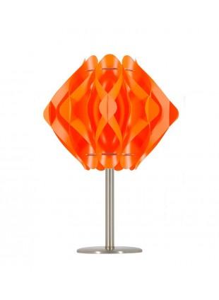 Πορτοκαλί επιτραπέζιο φωτιστικό Ravena S1 βάση 20 cm