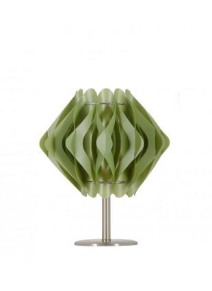 Πράσινο επιτραπέζιο φωτιστικό Ravena S1 βάση 10 cm