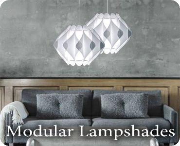 Modular Lampshades
